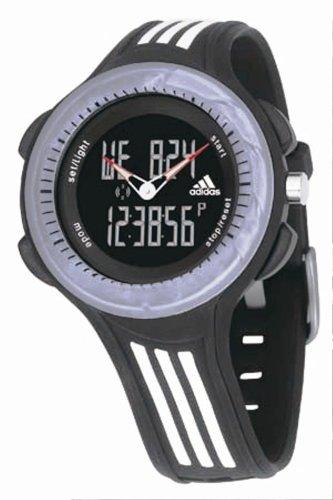 adidas ADP1576 - Reloj digital de cuarzo para hombre con correa de piel, color negro: Amazon.es: Relojes