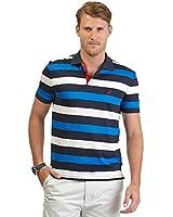 Nautica Men's Slim Fit Multistripe Polo Shirt