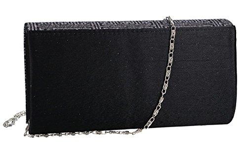 Borsetta donna ROMEO GIGLI pochette nera da cerimonia VN1345