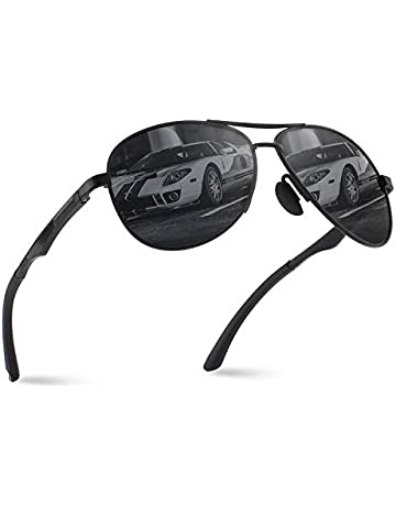 a563d5f7b67 CGID GA61 Premium Al-Mg Alloy Pilot Polarized Sunglasses UV400