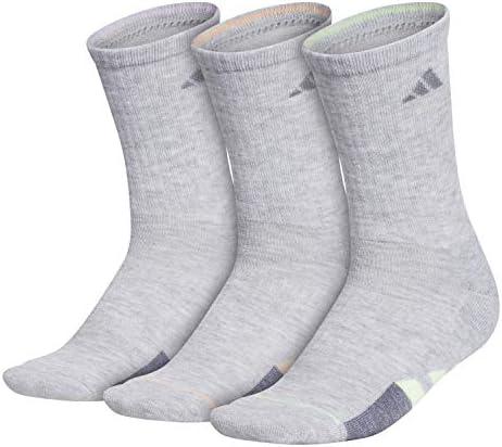 adidas Women's Cushioned Crew Socks (3-Pair)