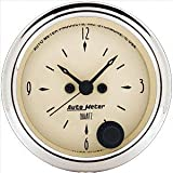 Auto Meter 1885 Antique Beige Clock