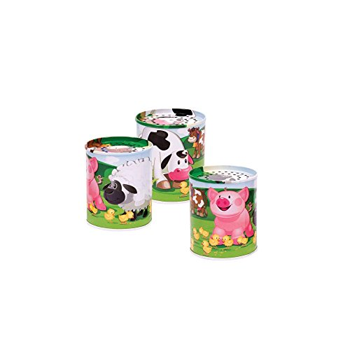 Schylling Animal Sound Maker, Tin (Sold Individually - Styles Vary)