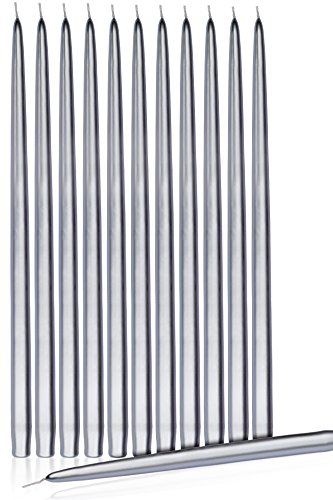 Higlow Elegant Dripless Taper Candles 15