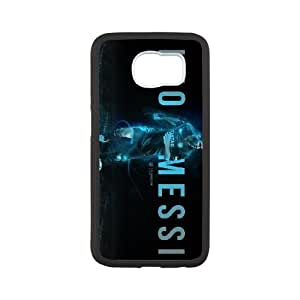 Sports leo messi Samsung Galaxy S6 Cell Phone Case Black DIY Ornaments xxy002-9164980