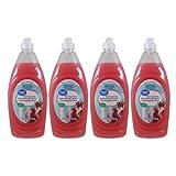 costco keurig water filters Great Value Hand Rejuvenation Fresh Pomegranate Scent Dishwashing Liquid, 4 x 24 Fl Oz