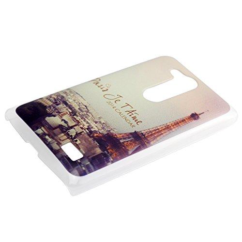 Harryshell(TM) Fashion Retro Paris Eiffel Tower Printing Hard Protective Case for LG L Fino D295 (3)