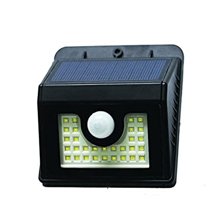 Amazon solar motion sensor light 2pack 30led security lights solar motion sensor light 2pack 30led security lights outdoor wall mount lamp deal of the day aloadofball Choice Image