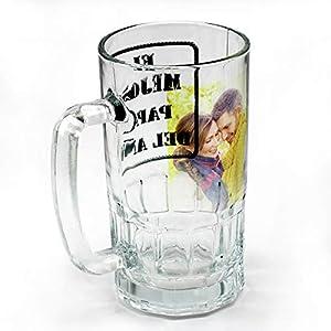 Lolapix - Jarra de Cristal Personalizada con tu Foto, diseño o Texto, Original y Exclusivo. 2