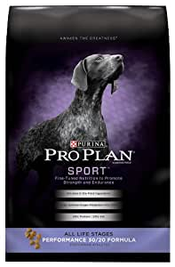 Purina Pro Plan Dry Dog Food, Sport, Performance 30/20 Formula, 18-Pound Bag, Pack of 1