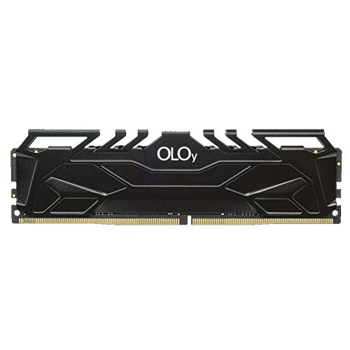OLOy DDR4 RAM 8GB (1x8GB) 3200 MHz CL16 1.35V 288-Pin Desktop Gaming UDIMM (MD4U083216BJSA)