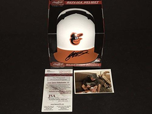 (Ryan Mountcastle Baltimore Orioles Autographed Signed Mini Baseball Helmet JSA WITNESS COA)