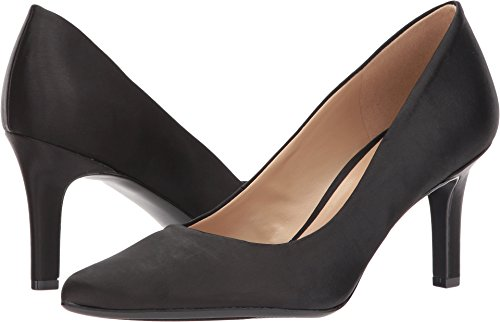 Naturalizer Women's Natalie Pump Black Satin 10 Medium US ()