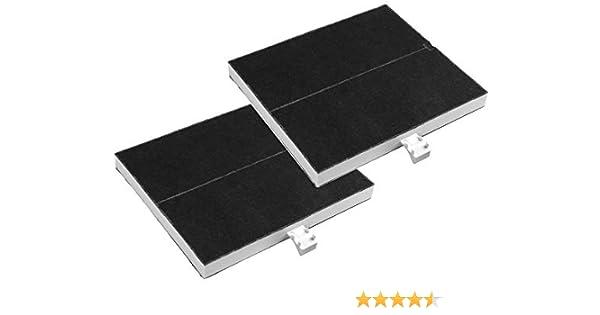 AquaHouse 00361047 Filtro de carbón activado compatible con Bosch DHZ5205 DHZ5135 DHZ5136, Neff Z5117X1 Z5117X5 Z5123X5, Siemens LZ51350 LZ51351 LZ52050, filtro de carbón para campana de cocina: Amazon.es: Hogar