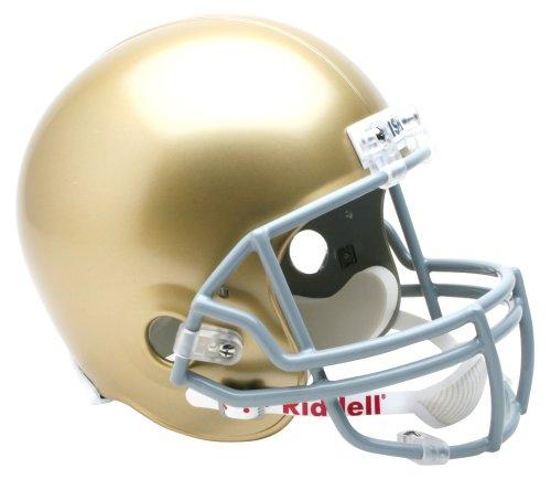 (NCAA Notre Dame Fighting Irish Deluxe Replica Football Helmet)