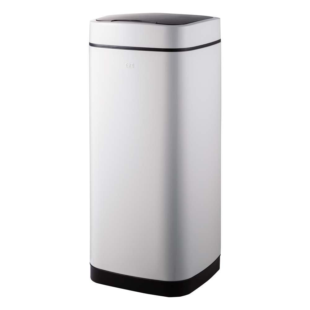 EKOスマートセンサー式ダストボックス 容量35L 552018(サイズはありません ウ:ホワイト) B079BJJD12 ウ:ホワイト ウ:ホワイト