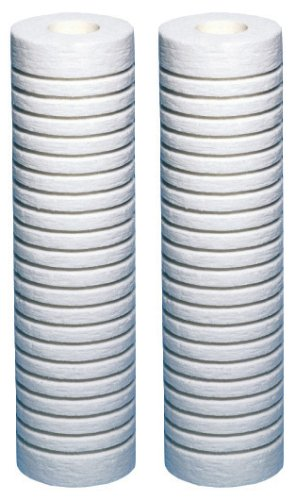 AquaPure-AP124-2PK Universal Whole House Filter Replacement Cartridge for Heavy/Coarse Sediment( Pack of ()