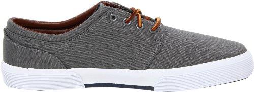 Polo Ralph Lauren Men's Faxon Low Sneaker, Grey, 13 D US
