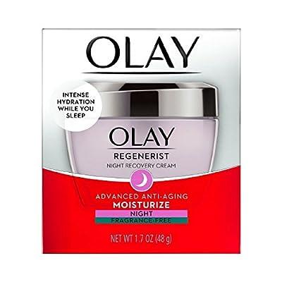 Olay Night Cream, Regenerist Night Recovery Anti-Aging Face Moisturizer 1.7 oz