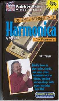 60-Minute Introduction To Harmonica For Beginners [VHS]
