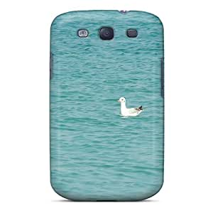 Quality Jeffrehing Case Cover With The Blue Sea Nice Appearance Compatible With Galaxy S3