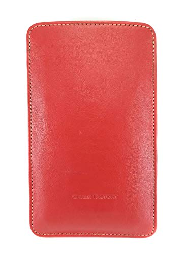 Chalk Factory Genuine Leather Mobile Case, Pouch for Xiaomi Redmi 9 Power Mobile Phone : RED 2021 July Chalk Factory leather case M1 continues to look better over time and with use as it develops its own unique patina. Made in India ! The Chalk factory M1 Case for Xiaomi Redmi 9 Power is a highly functional yet attractive case. The premium leather gives a sophisticated feel that provides a versatile look; it fits in with your casual jeans but doesn't look out of place in a professional business environment Made with Pure Lambskin Leather on exterior, Lined with drill lining on inside and hardened with waterproof lining on middle. This is the best cover money can buy for your phone.