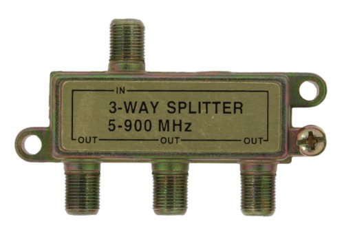 Leviton 40987-3 Three Way Splitter (Cable Leviton Splitter)