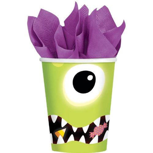 Boo Crew Halloween 9 oz. Paper Cups (8 count) Party Accessory