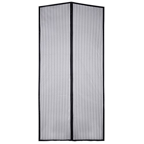 - Homitt Magnetic Screen Door with Heavy Duty Mesh Curtain and Full Frame Hook&Loop Fits Door Size up to 34