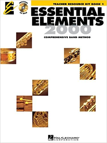 Essential Elements 2000, Book 1 - Teacher Resource Kit with CD-ROM ...