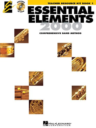 Essential Elements 2000, Book 1 - Teacher Resource Kit With CD-ROM