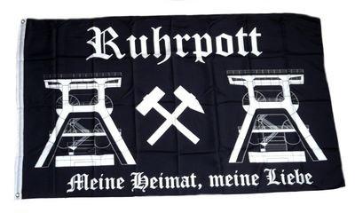 Fahne / Flagge Ruhrpott NEU 90 x 150 cm Fahnenwelt 3801195