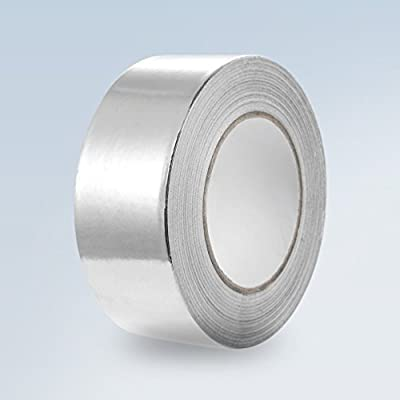 Growneer Aluminum Foil Tape 2 Inch x 150 Feet, 3.4 Mil HVAC Tape, for Ducts Repair and Sealing