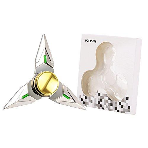 Moya Spinner Fidget Toy Hand Spinner Toy EDC Helps Focus, Stress, Anxiety, Boredom