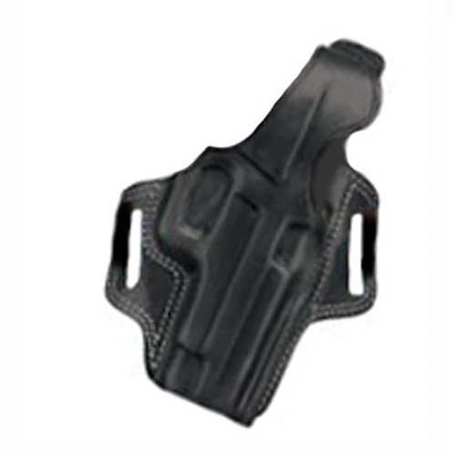 Galco Fletch High Ride Belt Holster for S&W J Frame 640 Cent 2 1/8-Inch .357 (Black, Right-Hand) - Galco Black Frame