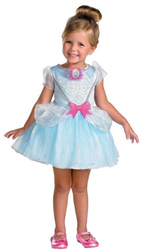 Cinderella Classic Toddler Costumes (Cinderella Ballerina Classic Costume - Toddler Large by Disguise)