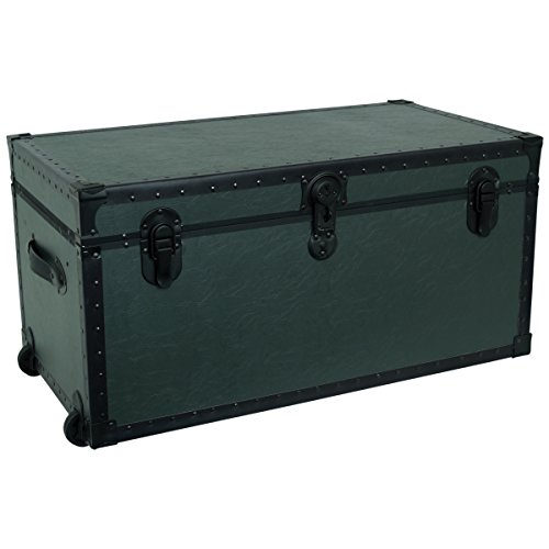 seward-trunk-garrison-oversized-footlocker-trunk-olive-drab-green-31-inch-swd5531-31