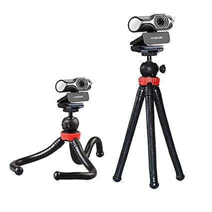 Amazon com: Webcam Tripod, Flexible Travel Tripod Ausdom