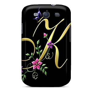 Premium [fAoIl69762DBEgx]my Creation Letter K Case For Galaxy S3- Eco-friendly Packaging