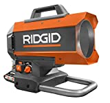 Ridgid 18-Volt 60K BTU Hybrid Forced Air Propane Portable Heater with 18-Volt Lithium-Ion 2.0Ah Battery and Charger Kit