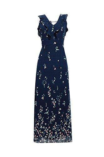 ESPRIT Damen Navy 400 Partykleid Blau Collection rgxfr