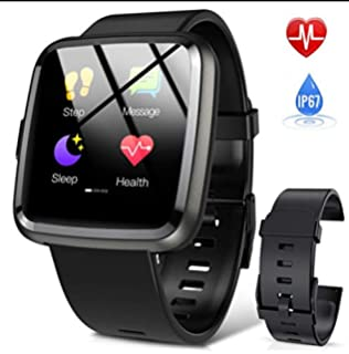 Smartwatch, Hommie S2 Reloj Inteligente con Pantalla Táctil ...