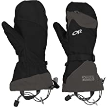 Outdoor Research Meteor Mitts, Black/Charcoal, Large