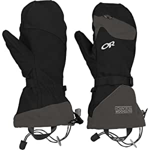 Outdoor Research Meteor Mitts, Black/Charcoal, Small