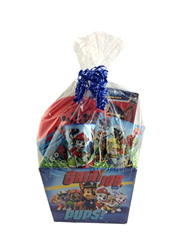 Paw Patrol Skye Chase Marshall Gift Basket Box for Boys and Girls for Birthday, Get Well, Surprise