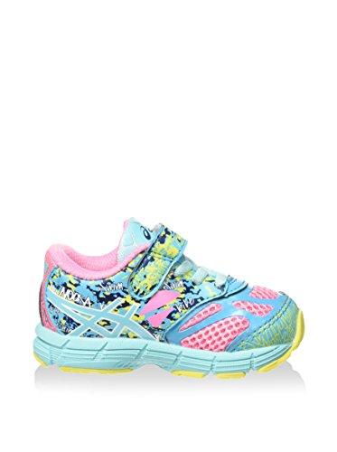 Asics Zapatillas de Running Noosa Tri 10 Ts Rosa / Aguamarina / Azul EU 26