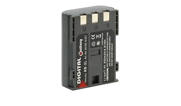 Recambio batería BATTERY para Canon nb-2l mvx45i dc 310 320 330 410 411 420 s30 s40