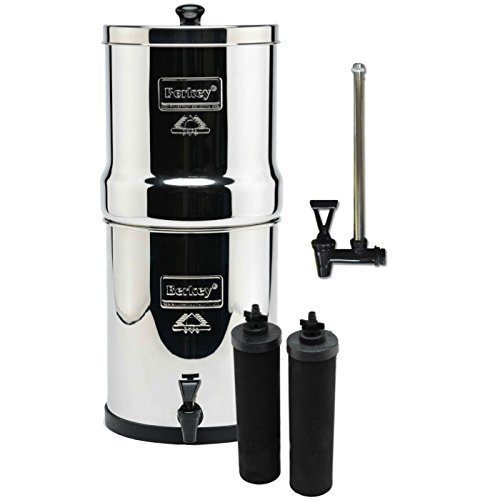 Royal Berkey with 2 Black filters and a Sight Glass Spigot