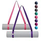 Gaiam Easy-Cinch Sujetadores para Colchoneta de Yoga (se Venden Individualmente en Diferentes Opciones de Colores)
