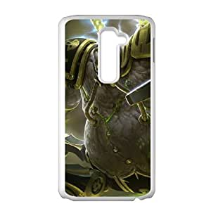 LG G2 Cell Phone Case White League of Legends Urgot Rdtzg